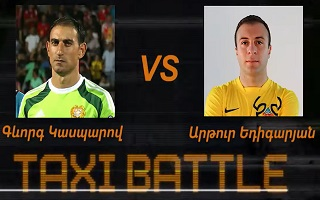 Taxi Battle 2 - Gevorg VS Arthur